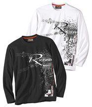 Lot de 2 Tee-Shirts Winter Days