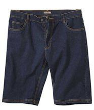 Stretch-Bermuda im Jeans-Look