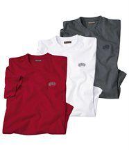 Lot de 3 Tee-Shirts Confort
