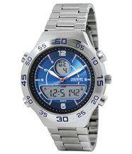 Horloge met dubbele tijdweergave