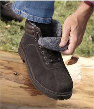 Chaussures Montantes Fourrées