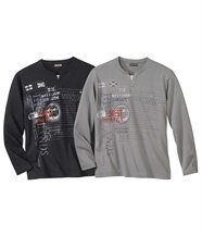 Lot de 2 Tee-Shirts Forest