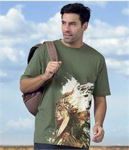 Tee-Shirt Indian Style