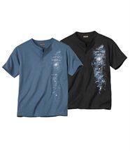 Set van 2 'Legendary Trip'  T-shirts