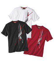 Lot de 3 Tee-Shirts Motifs Graphic