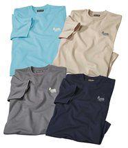 Lot de 4 Tee-Shirts Hawaii