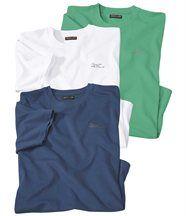 3er-Pack T-Shirts aus Jersey