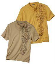 Lot de 2 Tee-Shirts Tahua
