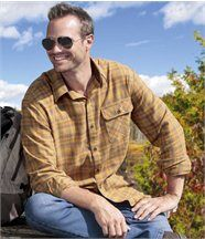 Chemise Flanelle Yellow Forest