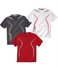 Lot de 3 Tee-Shirts Sport Summer