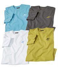 Lot de 4 Tee-Shirts Summer Palm