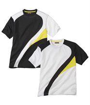 Set van twee T-shirts 'Graphic'