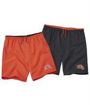 Lot de 2 Shorts de Bain Tuamotu
