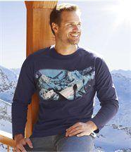 T-shirt 'White Mountain'