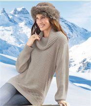 Pull Tricot Fantaisie