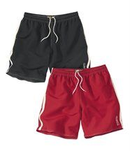 Set van 2 sportieve shorts