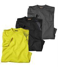 Lot de 3 Tee-Shirts Sport Nature