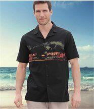 Overhemd 'Malibu Surfi ng'