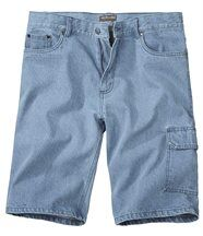Bermuda Jeans Bleach