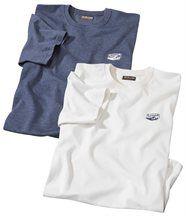 Set van 2 T-shirts 'Outdoor'