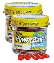 Berkley powerbait micro corn lot de 2 rouge tw...