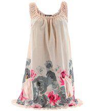 Robe  coton - ROSANNA - bohème  rose