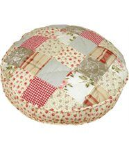 Coussin chien Shabby chic