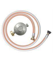 Kit gaz butane détendeur + tuyau flexible