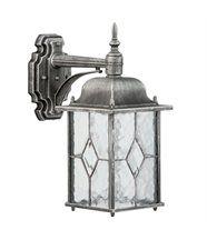 Applique extérieure lanterne carrée rétro style rustique