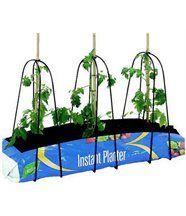 Supports métalliques 3 pieds pour jardinière Grow-Bag
