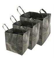 Lot de 3 sacs de jardin multifonctions 70l / 100l / 170l