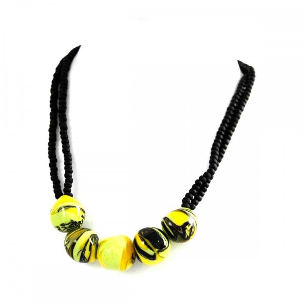 pendentif collier de femme perles verre de murano 180 murano. Black Bedroom Furniture Sets. Home Design Ideas