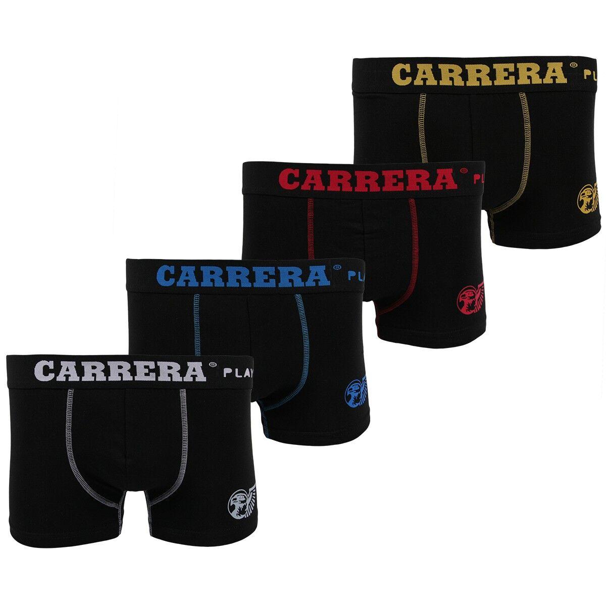 Boxers - Caleçons Carrera homme lot de 4