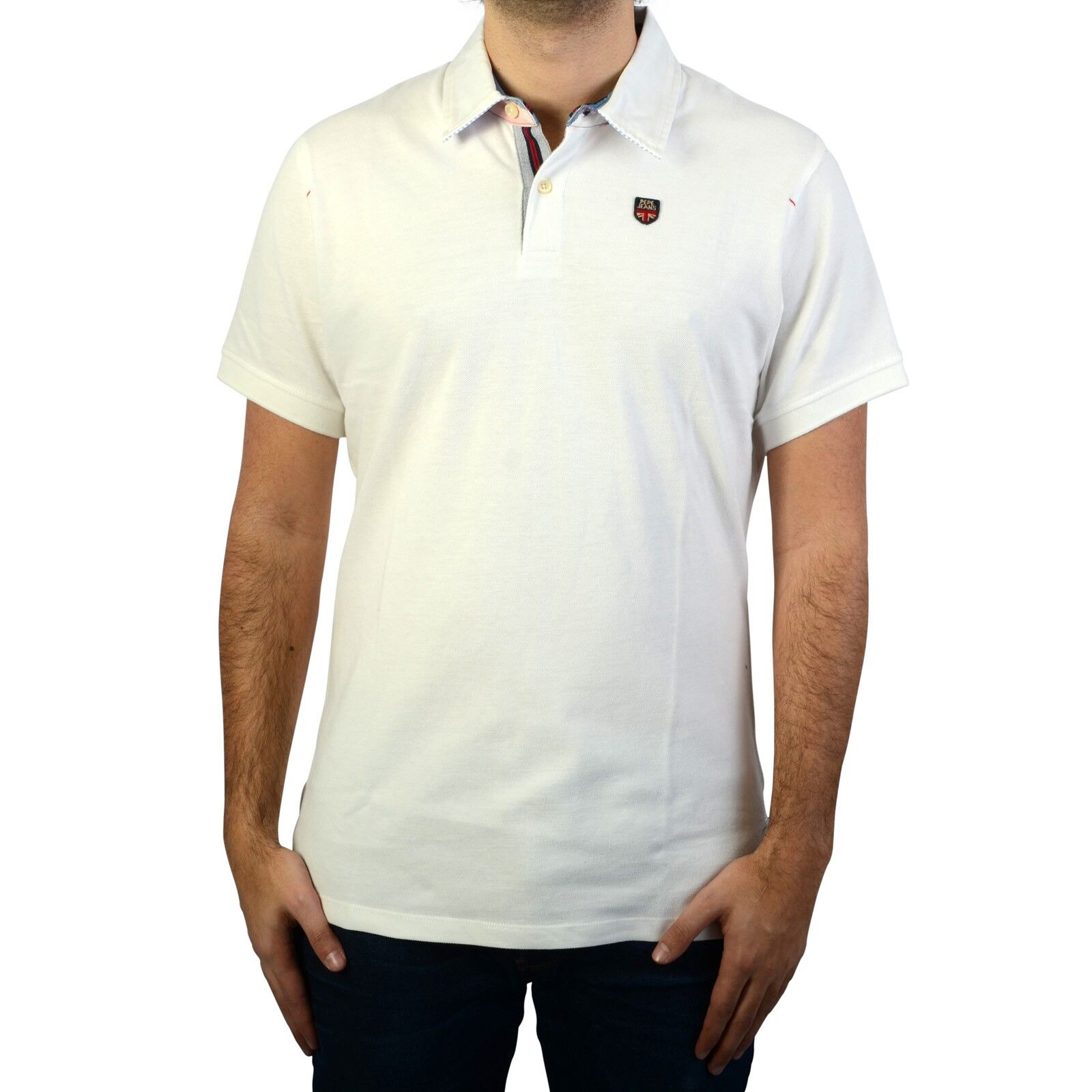 Polo Harry Pepe jeans - blanc, S