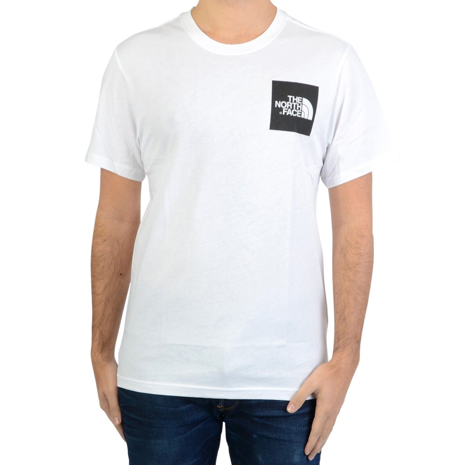 Fine Ss Tee Shirt North The M Face f6Y7ybg