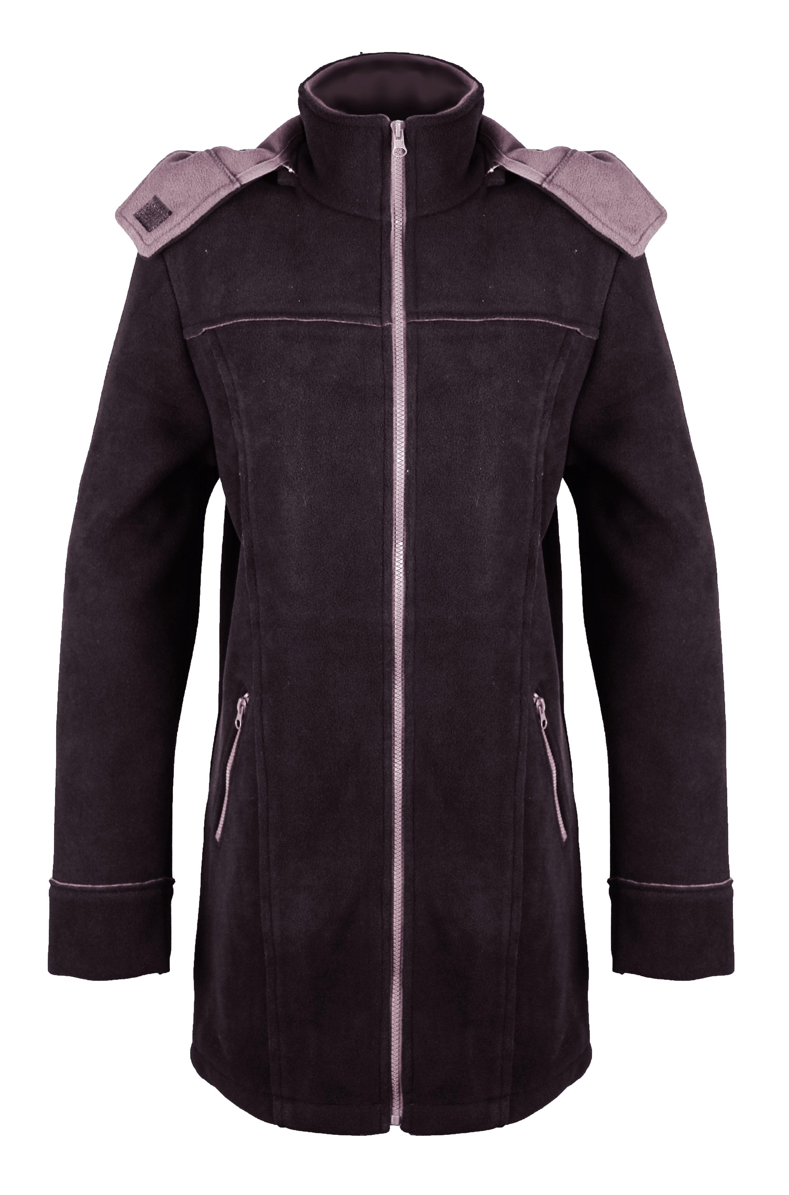 Manteau polaire femme