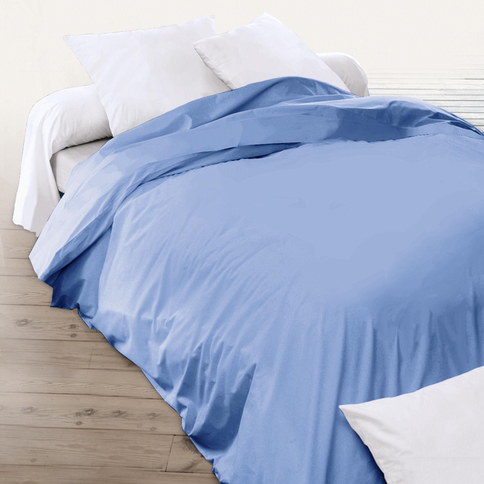 housse de couette uni 260x240 cm 100 coton alto belle ile linnea. Black Bedroom Furniture Sets. Home Design Ideas