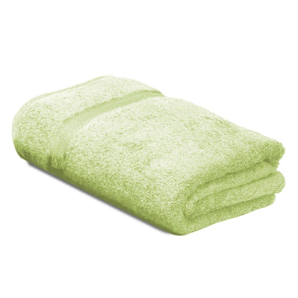 drap de bain 100x150 cm royal cresent vert pastel 650 g m2 linnea. Black Bedroom Furniture Sets. Home Design Ideas