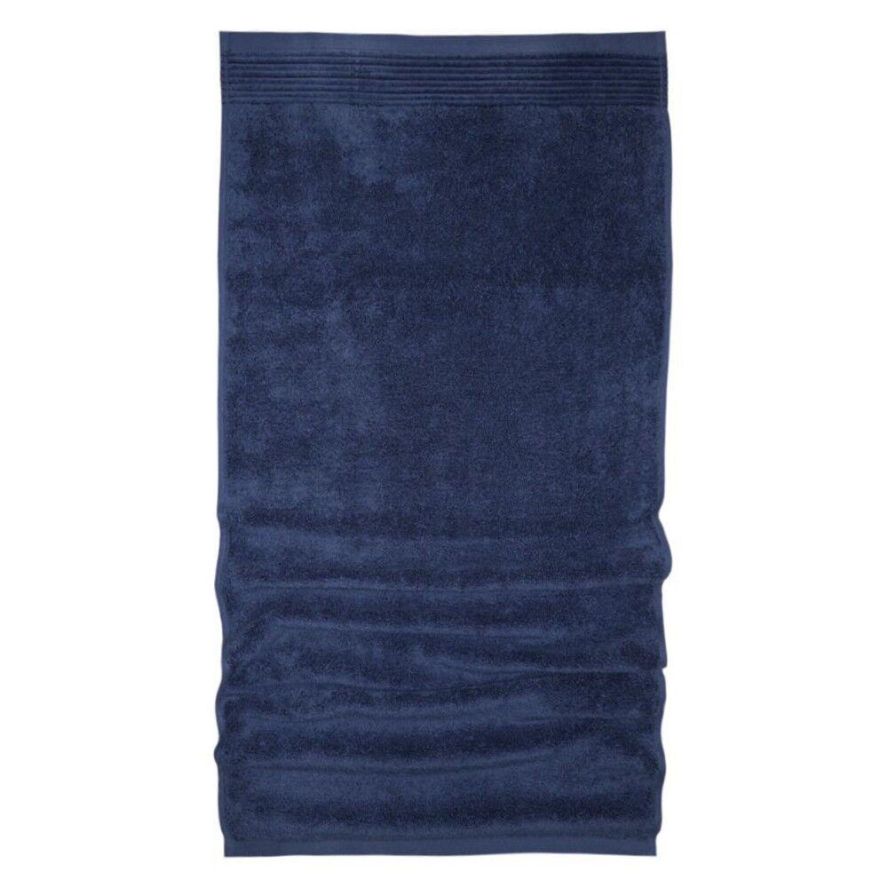 drap de bain 100x150 cm juliet bleu 520 g m2 linnea. Black Bedroom Furniture Sets. Home Design Ideas