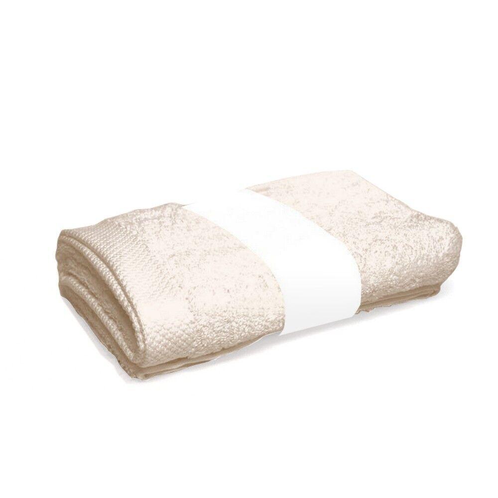 drap de bain 100x150 cm pure ivoire 550 g m2 linnea. Black Bedroom Furniture Sets. Home Design Ideas