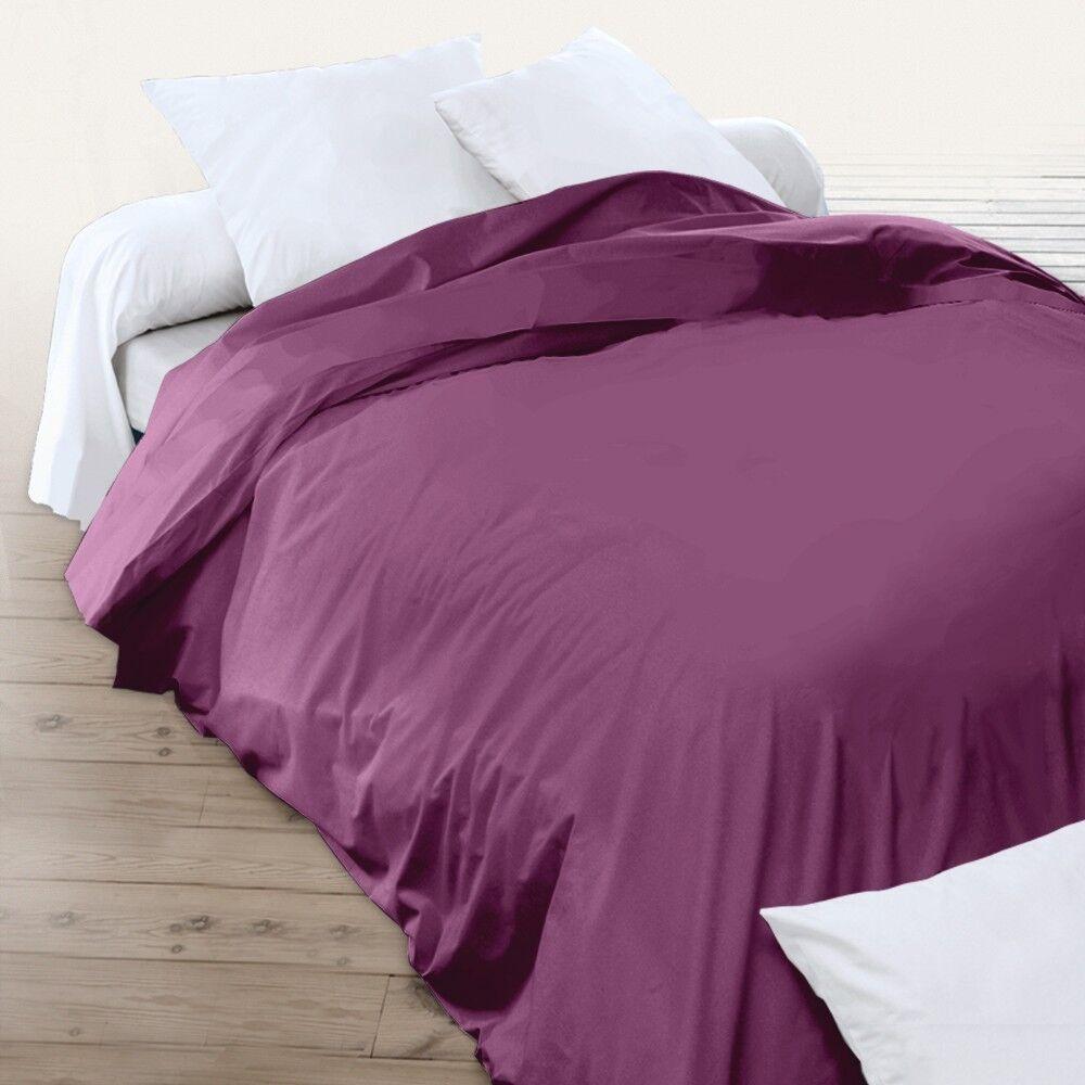 housse de couette uni 280x240 cm 100 coton alto raisin linnea. Black Bedroom Furniture Sets. Home Design Ideas
