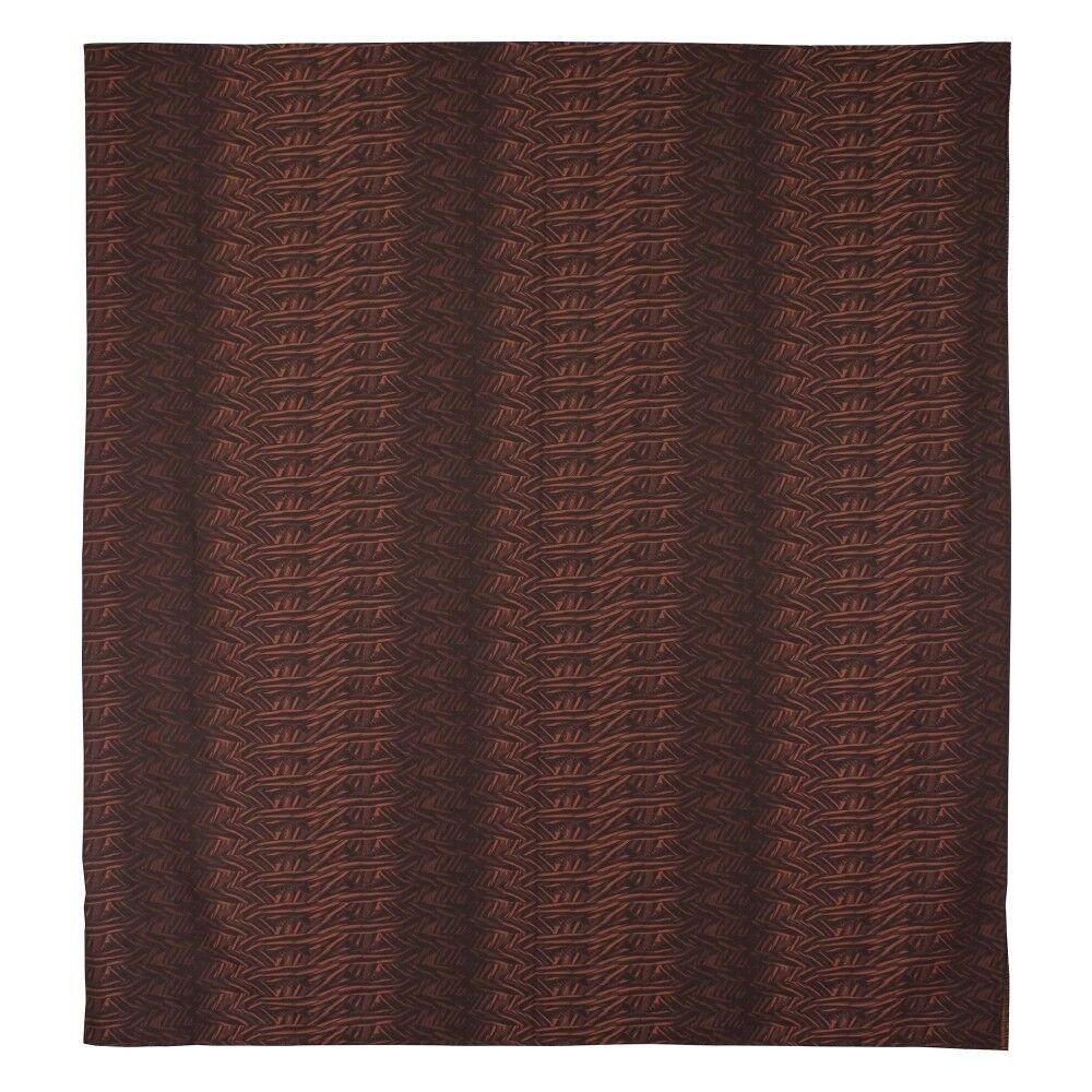 housse de couette 280x240 cm satin de coton opera marron fonc linnea. Black Bedroom Furniture Sets. Home Design Ideas