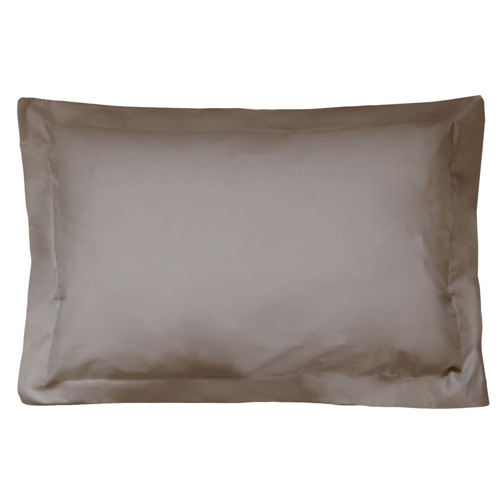 taie d 39 oreiller uni 80x50 cm 100 coton alto muscade linnea. Black Bedroom Furniture Sets. Home Design Ideas