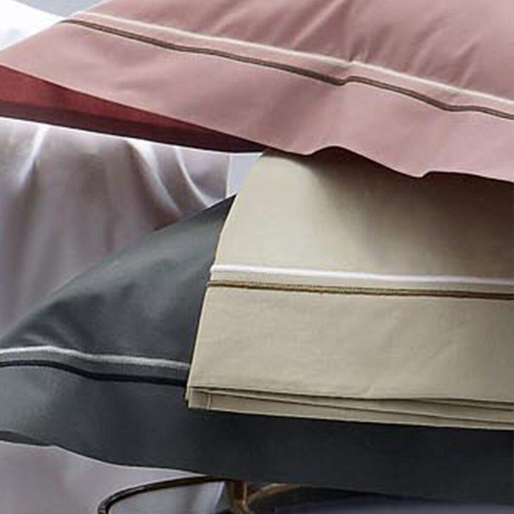 taie d 39 oreiller 40x40 cm uni percale pur coton hotel de paris lin d stockage linnea. Black Bedroom Furniture Sets. Home Design Ideas