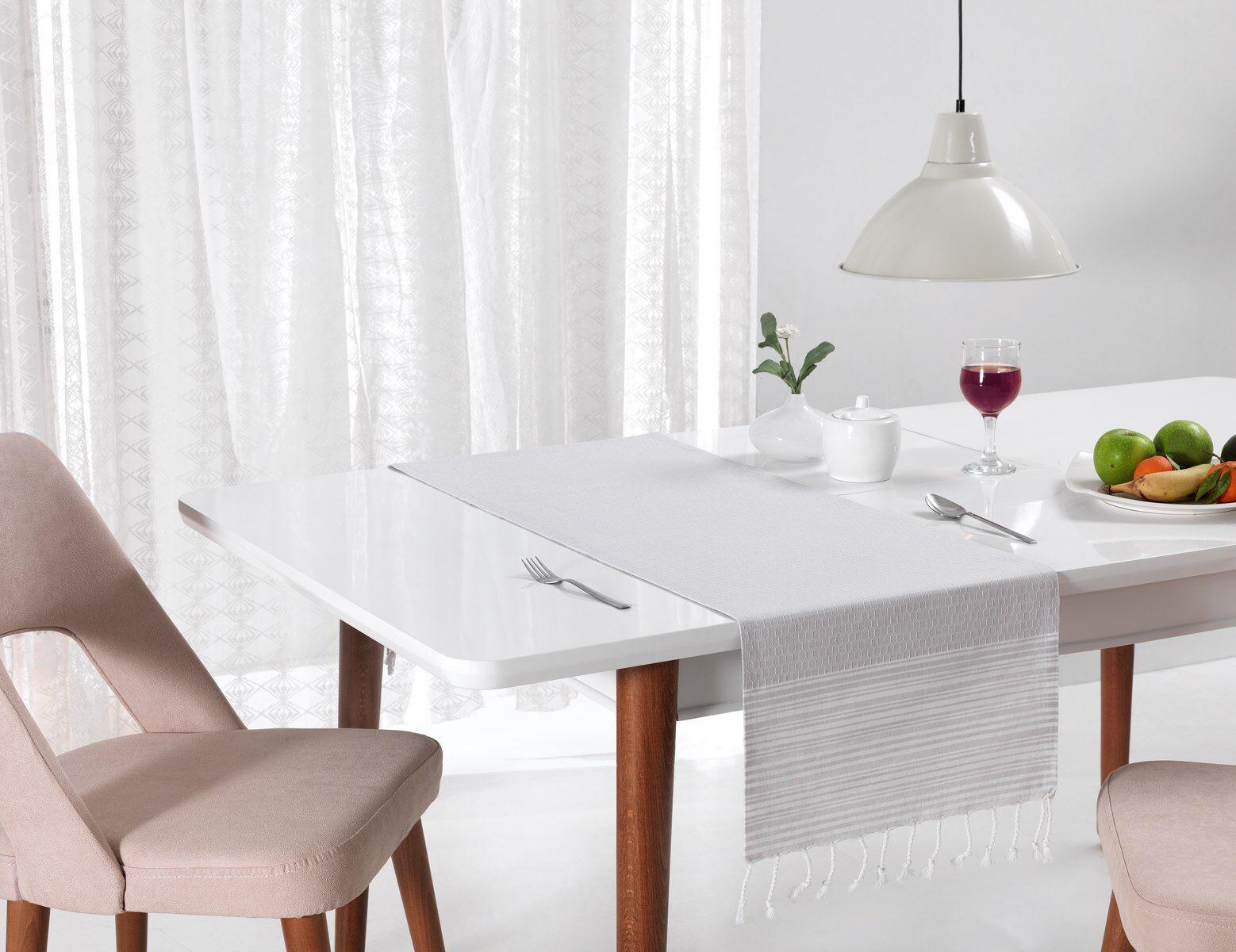 Nappe ou chemin de table tissu caraibe sensei la maison for Tissu pour chemin de table