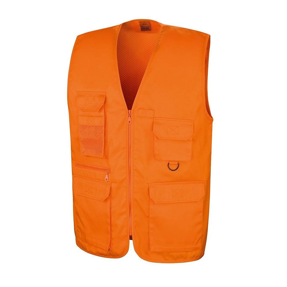 Gilet sans manches reporter multi-poches polycoton Result