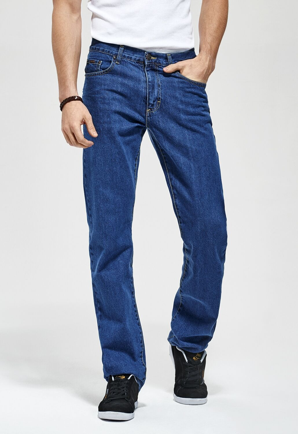 Rica Lewis Jeans RL70 coupe droite coton stone washed