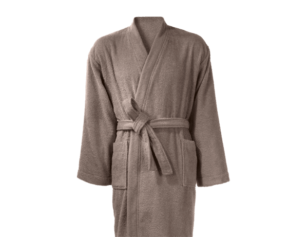 Peignoir 100% coton 380 g/m² City Taupe