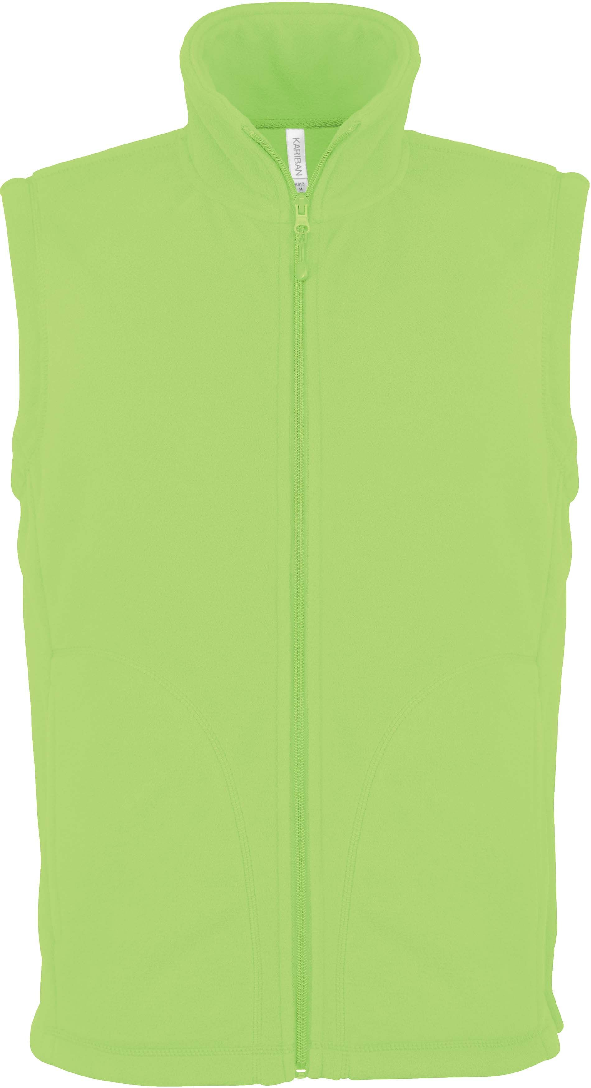 LUCA > GILET MICROPOLAIRE Forest Green