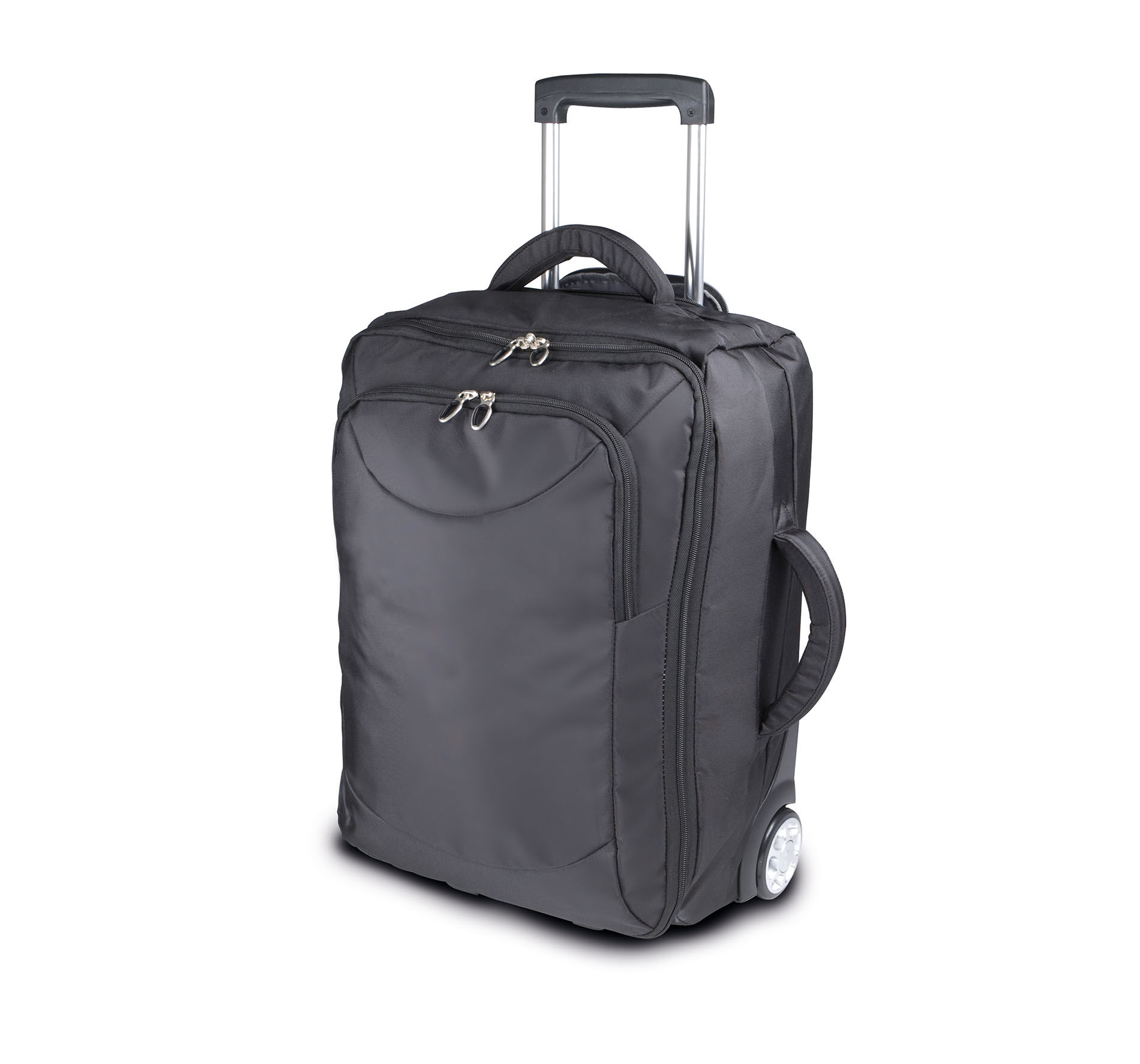 Valise roulettes cabine trolley black kimood - Valise roulette cabine ...
